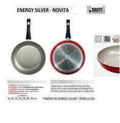 Bialetti Energy Silver sartén cm.22