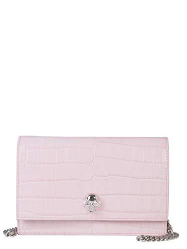 Alexander McQueen Luxury Fashion Donna 5823581HB0I5813 Rosa Borsa A Spalla | Autunno Inverno 19