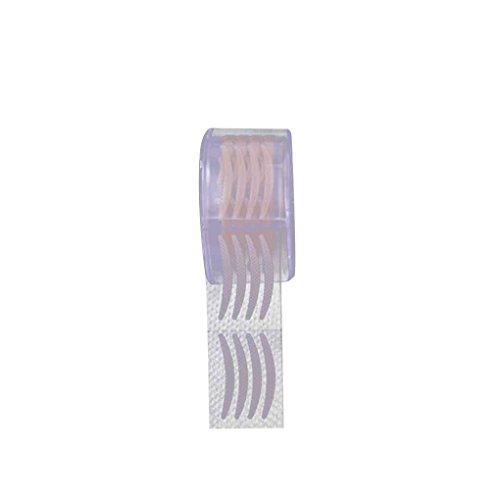 IMHERE W U 300 Paare Adhesive unsichtbare Faser-Doppelt-Augenlid-Klebeband-Aufkleber-Verfassungs-Kosmetik-Werkzeug