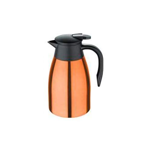 Bergner Neon Classic Kaffeemaschine 1,5 l Edelstahl Orange