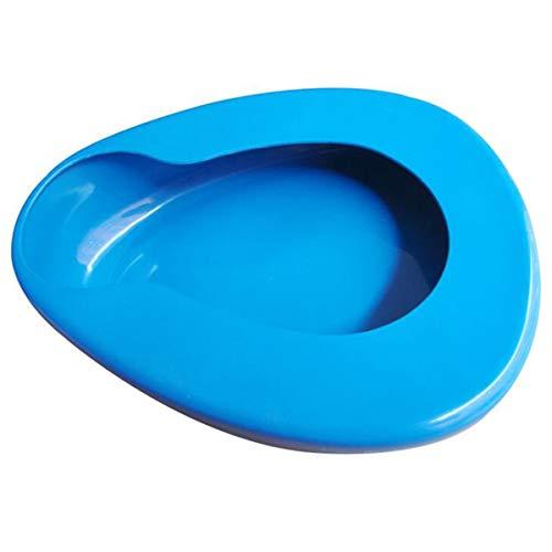 testyu Bed Pan, Plastic Bedpan for Elderly Women Men Home Hospital Bedridden Patient Car Travel Driving Emergencies
