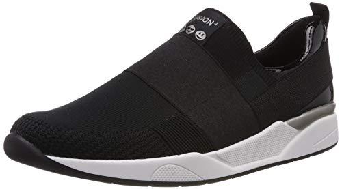 ara Damen L.A 1214687 Sneaker, Schwarz (Schwarz 01), 41 EU(7 UK)