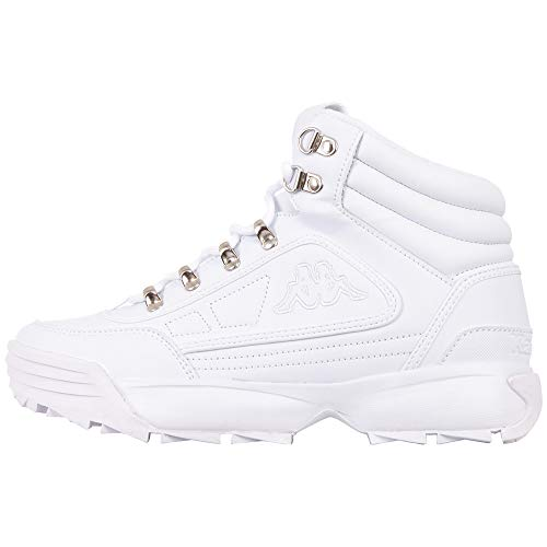 Kappa Shivoo Ice Hi, Zapatillas Mujer, 1010 White, 38 EU