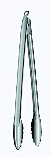 RÖSLE Barbecue-Grillzange, Edelstahl 18/10, Länge 40 cm, Profiqualität, spülmaschinengeeignet