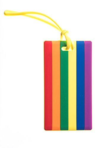 Gay Pride Rainbow Flag Luggage Tag