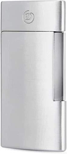 【名入れ無料】【ラッピング無料】デュポンS.T.Dupont ライター E-スリム 電子ガス式 ブラッシュクローム