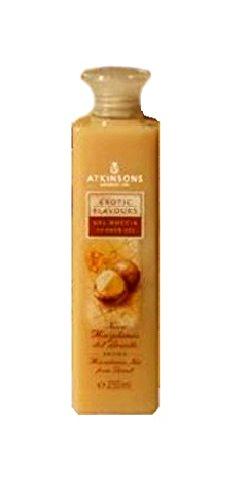 Atkinsons Exotic Flavours Gel Douche Noyer Macadamia du Brésil 250 ml