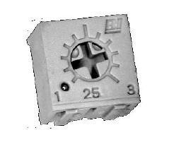 Trimmer Resistors OFFer - Through Hole 1 100K 100 SEAL limited product pieces 4