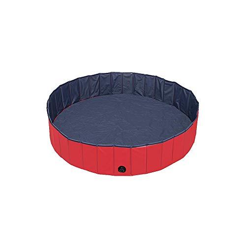 song rong PVC Pet Pool bewegliche Faltbare Hunde Badewanne Außenpools für Hunde Katzen Kid Red 1PC