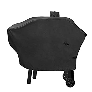 StanbroilWaterproof Anti-UV Patio BBQ Cover withBuckle forCampChefWoodwind SmokePro SG PelletGrill&Smoker and All 24-Inch Pellet Grills