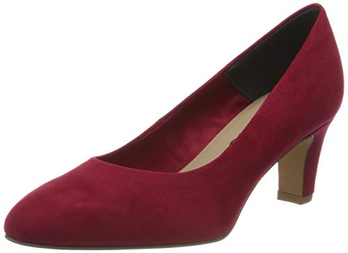 Tamaris Damen 1-1-22418-24 Pumps, Rot (Lipstick 515), 40 EU