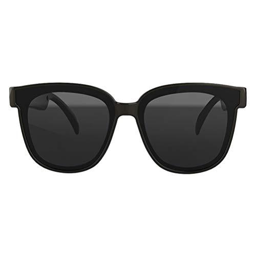PENGLAI Gafas de sol inteligentes, 5.0 estéreo, altavoz de oído abierto, inalámbrico, Bluetooth, gafas de sol IPx4, impermeables, hombres y mujeres, unisex