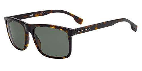 Hugo Boss Boss 1036/S Gafas, DARK HAVANA/GN VERDE, 58 Adultos Unisex
