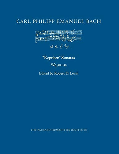 """Reprisen"" Sonatas, Wq 50-52 (CPEB:CW Offprints, Band 75)"