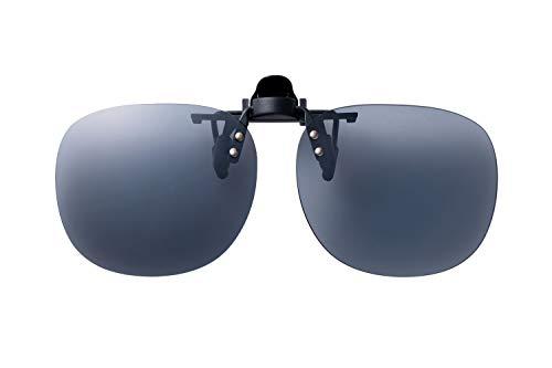SWANS(スワンズ) 日本製 偏光 サングラス メガネにつける クリップオン 跳ね上げタイプ SCP-21_SMK SMK 偏光スモーク