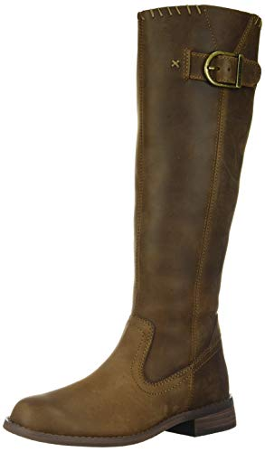 HARLEY-DAVIDSON FOOTWEAR Women's Keyser Fashion Boot, Chocolate, 10 M US