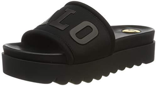 Buffalo Damen Pool Slides Pantoletten, Schwarz (Black 001), 37 EU