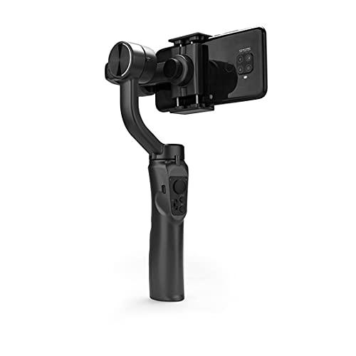 XJST Selfie Stick Treppiede Stabilizzatore Gimbal, Stabilizzatore Gimbal A 3 Assi, per Smartphone Tiktok Vlog Youtuber Videocitofono Live