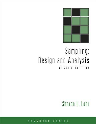 Sampling: Design and Analysis (Adva…