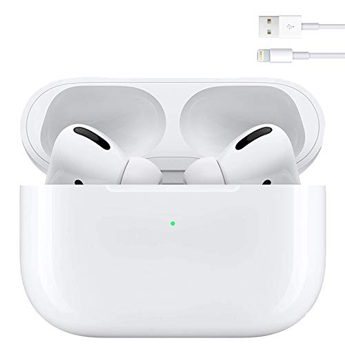 Auriculares Bluetooth 5.0 Auricular Inalámbrico In-Ear Auriculares Micrófono de Reducción de Ruido Incorporado y Caja de Carga Rápida 3D Estére IPX7 Impermeables,para iPhone/Android/Apple