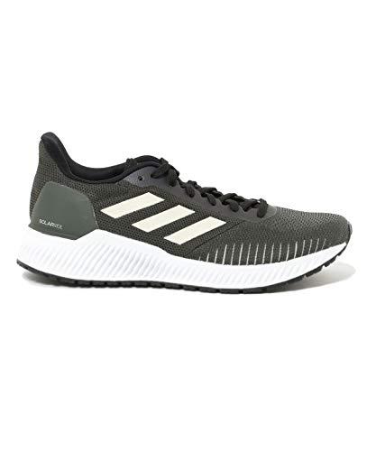 adidas Zapatillas de running Solar Ride para mujer, color verde, color Verde, talla 40 2/3 EU