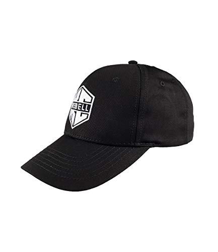 KC Rebell Cap Logo, Farbe:schwarz, Größe:one-Size
