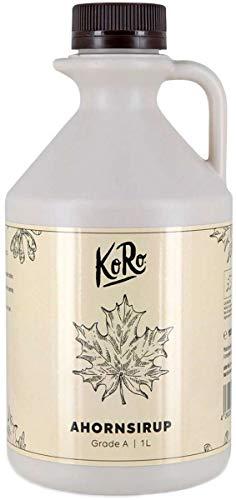 KoRo - Bio Ahornsirup Grade A 1 Liter - Maple syrup aus Kanada im Vorteilspack