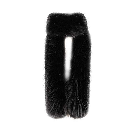 ODJOY-FAN simulazione pelliccia capelli di volpe sezione lunga sciarpa-collo con collo sciallato pelliccia-sciarpa spessore caldo lungo scialle della inverno delle donne