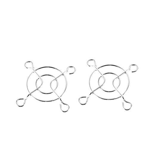 Insmart - Ventilador de PC (4 cm, 2 Unidades, protección para los Dedos, Alambre de Metal)