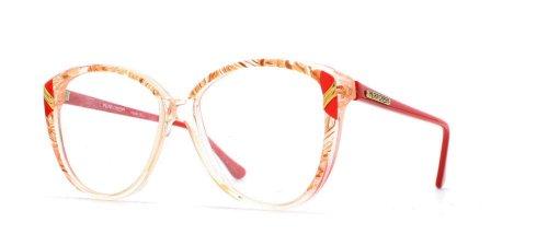 Pilar Crespi - Montura de gafas - para mujer Rojo Red Yellow...