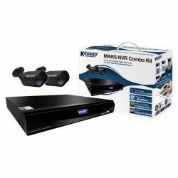 KGuard-Mars NVR 4 Canales 2 cámaras IP con Disco Duro de 2 TB