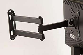 """InstallerCCTV Universal Cantilever Wall Mount for 14""""-30"""" LCD/LED/Plasma Flat Screen TVs Hold up to 45LB 15"""" Extension,Max VESA Compliance 100mm100mm w/ 180 Degrees Swiveling and 20 Degrees tilt"""