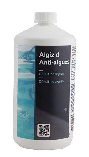 Aqualux Anti Algues Piscine - Préventif - Liquide - Bouteille 1 Litre - Algicide - Gamme Traitement Piscine Essentiel