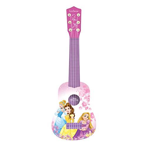 Lexibook - K200DP - Disney Princess Mini Gitarre