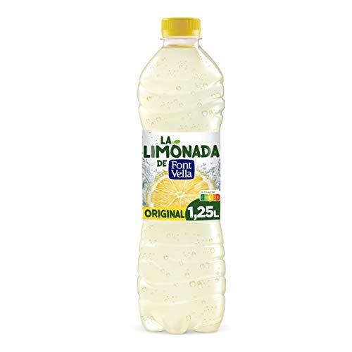 Limonada de Font Vella, Agua Mineral Natural con zumo de Lim