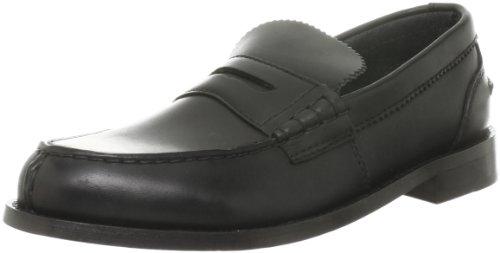 Clarks Beary Loafer 20348634, Mocassini uomo, Nero (Schwarz (Black Leather)), 42.5