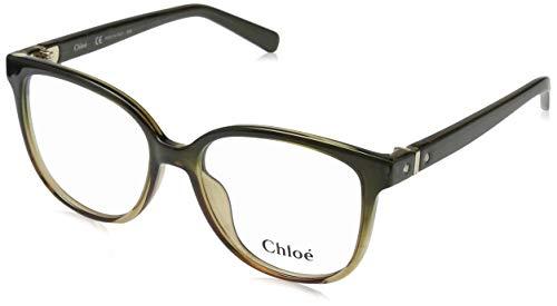 CHLOÉ CE2705 brilmontuur CE2705 Chloe rechthoekig brilmontuur 53, bruin