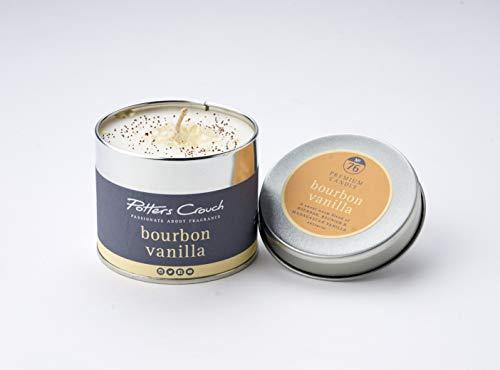 Potters Crouch Bougie en métal Vanille Bourbon