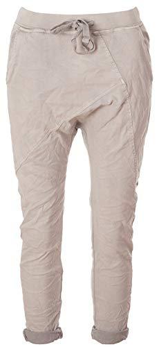 Basic.de Boyfriend-Hose im Joggpant Style Melly & CO 8175 Hellgrau S