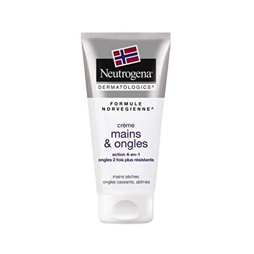 Neutrogena Formule Norvégienne Crème Mains & Ongles Mains Sèches Ongles Cassants Abîmés 100g (lot de 2)