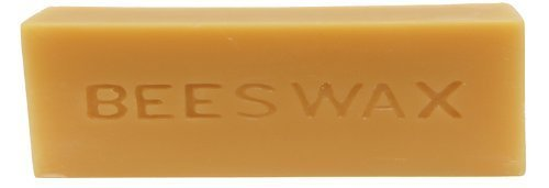 1LB Raw Yellow Beeswax (unbleached) Great for many uses!