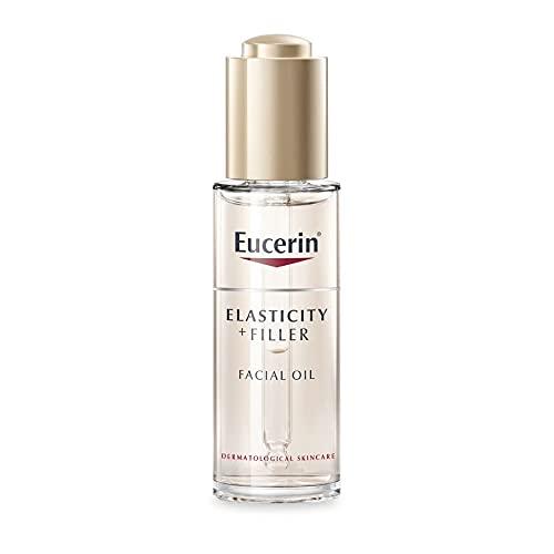 Eucerin - Aceite facial antiedad Elasticity + Filler con ácido hialurónico