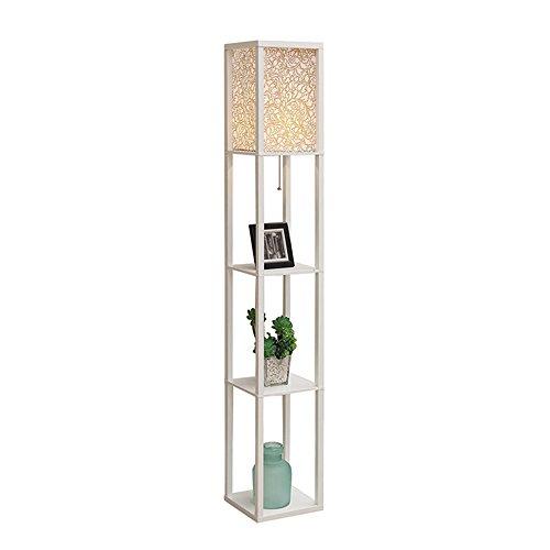Salon lampadaire chambre chevet épousa allée lampadaire (Couleur : Blanc)