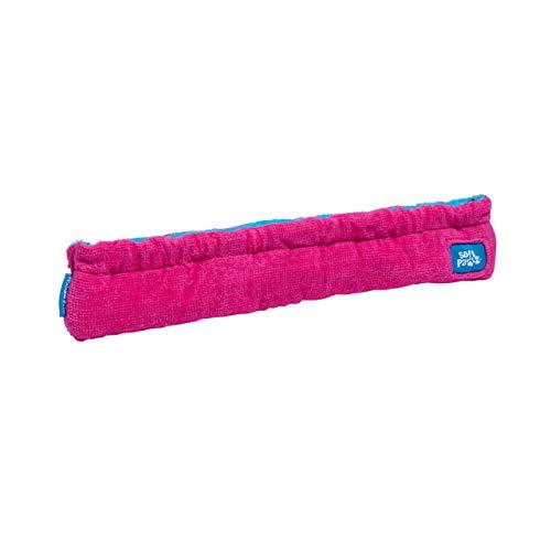 Guardog 2-Tone Terries Kufenschoner für Eiskunstlauf, Eislaufschue, Schlittschuhe, pink/blau