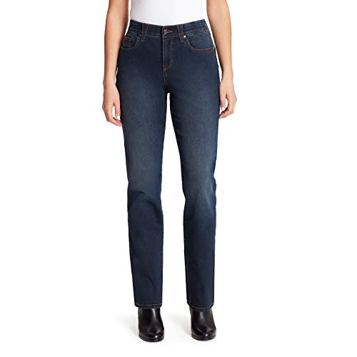 Gloria Vanderbilt Women's Plus Size Revolution Solution Straight Leg Jean, Stamford, 22W