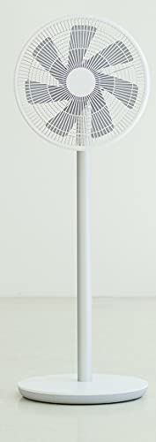 Smartmi Standing Fan 2S- Ventilador portátil inteligente con batería (29dB, batería 16 horas de autonomía, 100 velocidades, 4 grados de oscilación, mando a distancia y control por app)