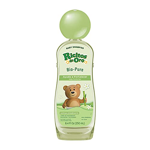 Maya Pyramide Exclusive Ricitos de Oro Bio-Pure Baby Shampoo with Bar Soap w Additional Exclusive Maya Pyramide Gift