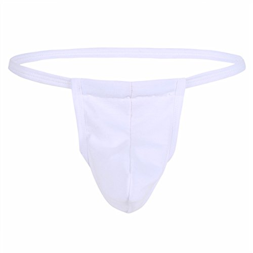 IEFIEL Tangas Slips para Hombre Ropa Interior Suave Calzoncillos Slip Permeable al Aire