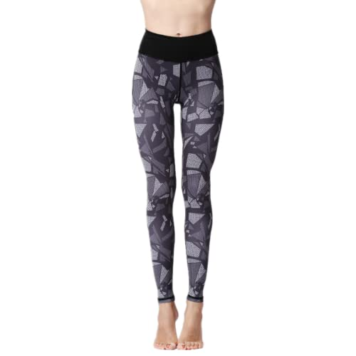 EMPERSTAR Leggings De Yoga para Mujer Pantalones De Yoga De Control De Barriga De Cintura Alta S