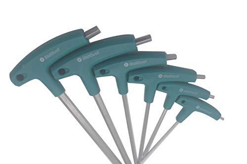 SidiOutil 6 Stk. Innensechskant Schraubendreher T-griff Schrauben Werkzeug Sechskantschlüssel Innensechskantschlüssel Handwerkzeugschlüssel Reparaturwerkzeug für Fahrrad Auto
